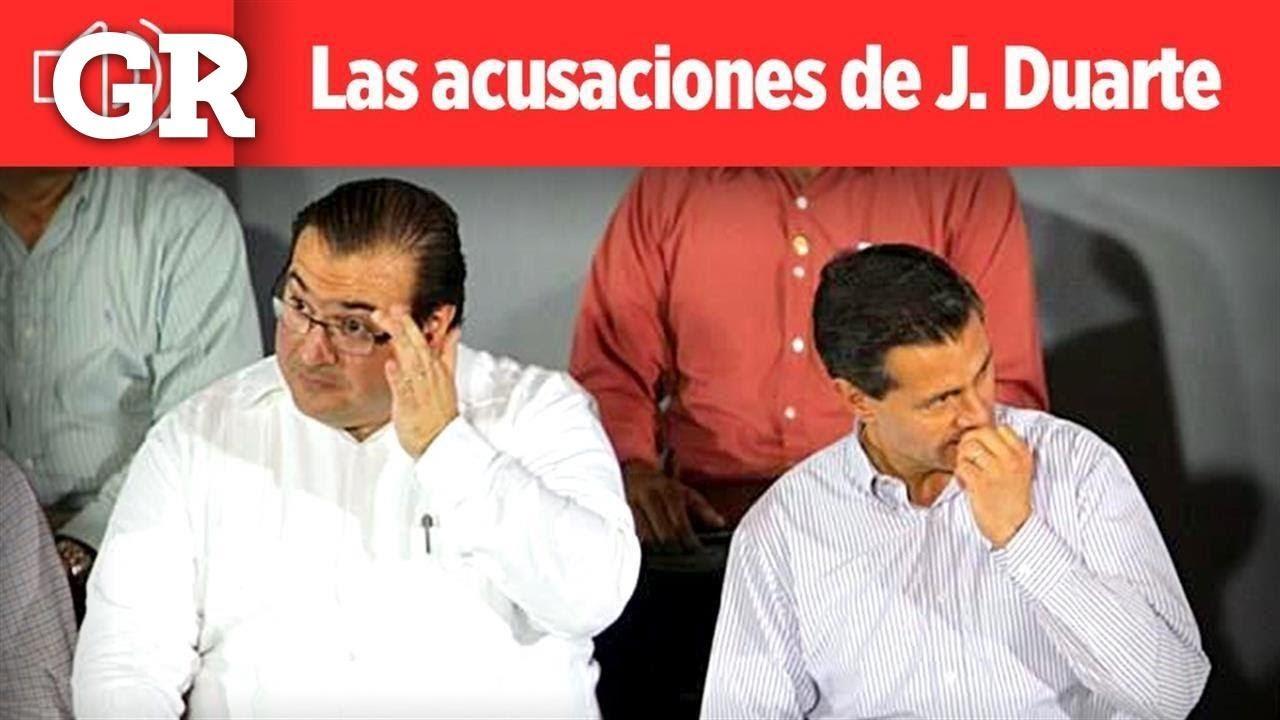 Peña Nieto me mandó dinero.-Duarte