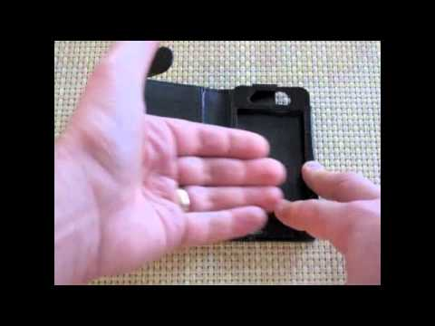 Gear Diary Video Review of the Sena Hampton Wallet for iPhone 4/4S