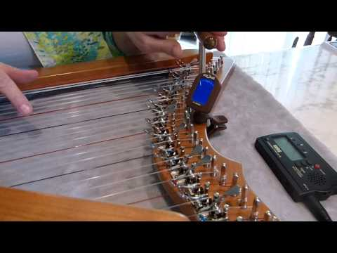 How to Tune Your Harp - Harp Lessons with Darlene