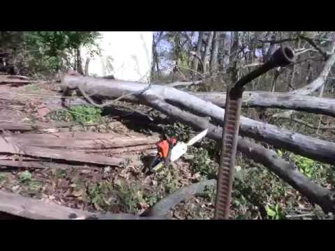 Pinched Chainsaw (a must have tool)