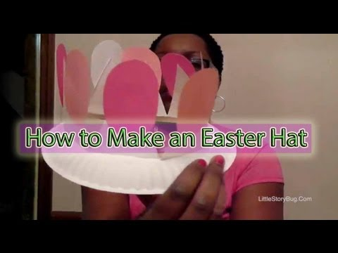 Preschool Craft for Easter - Easter Hat - Littlestorybug