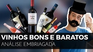 #17 vinhos bons e baratos | Cabernet, Merlot, Espumante, Branco, Tinto e ++