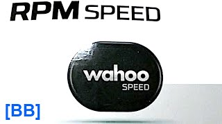 WAHOO RPM Speed Sensor How To Install And Test