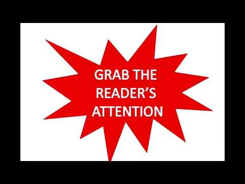 Your Essay: Catch the Reader's Attention!