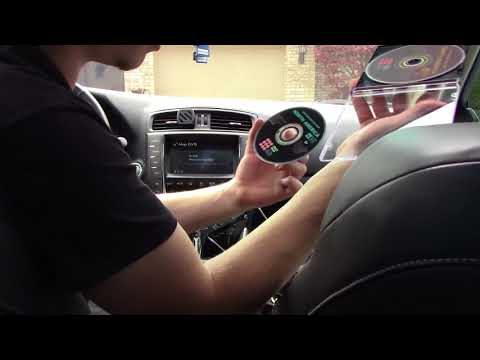 How To Update Your Navigation in a Lexus (Nav Disc 2006-2013) HD