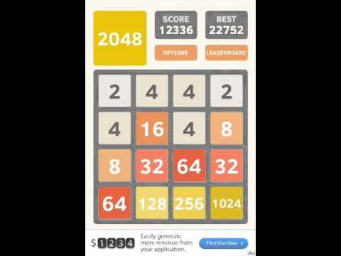 How to get the 2048 tile