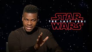John Boyega on Filming STAR WARS: THE LAST JEDI