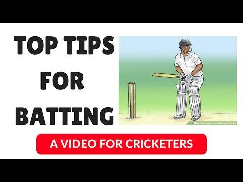 Top 3 Tips for Batsmen | Batting Tips | Cricket Tips | Cricket Coaching | Hindi