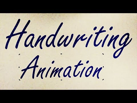 Handwriting Animation with SVG