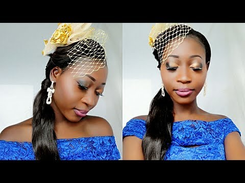 Ghanaian Bridesmaid Make-up Tutorial |No Foundation|