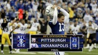 Big Ben SHOCKS Peyton Manning   2005 AFC Divisional Round   NFL Full Game Flashback Highlights