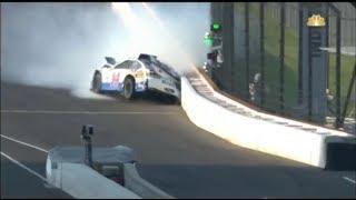 2017 Brickyard 400 - Bowyer, Ku. Busch, Jones Crash