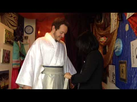 Josh Gets Dressed in a Hakama, the Traditional Wedding Outfit for Japanese Men