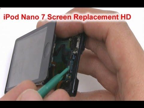 How to iPod Nano 7th Gen LCD Screen Repair