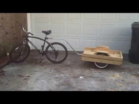 Homemade Bike Trailer (Simple)