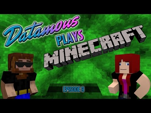 Datamous Plays - Minecraft 1.9 Ep 9 - This Boy Is On Fire!