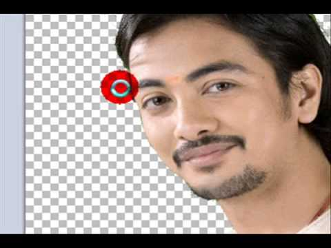 Change  Background Colour of photo/image with Magic Wand Tool in Paint.Net (Hindi)