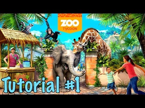 Let's Play Zoo Tycoon on Xbox One - 1080p HD walkthrough with commentary - PART 1 - Tutorial 1