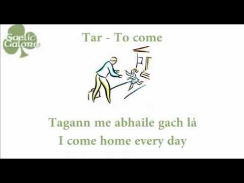 Learn Irish - Gaelic Galore Lesson 18 - Irregular Verbs