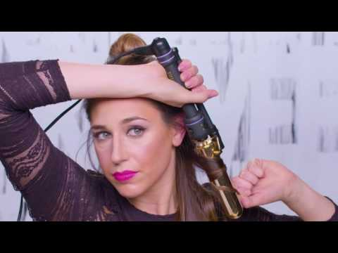 Side Swept Holiday Hair Tutorial with Andrea Pion for Redken