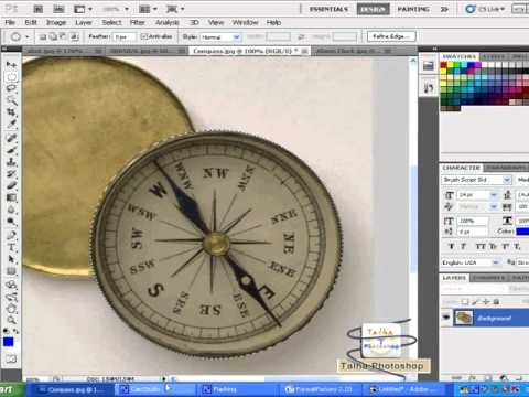 how to use selection tools elliptical marquee tool in photoshop cs5 lesson 2