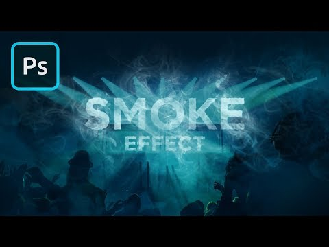 Adding Smoke in Photoshop | 2 Minute Tutorial