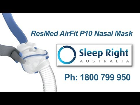 Review of ResMed AirFit P10 nasal mask