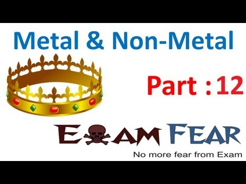Chemistry Metal & Non Metals part 12 (Ionic compound formation) CBSE class 10 X