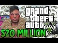GTA 5 Winning The Lottery 20000000 Spending Spree GTA 5 Funny Moments