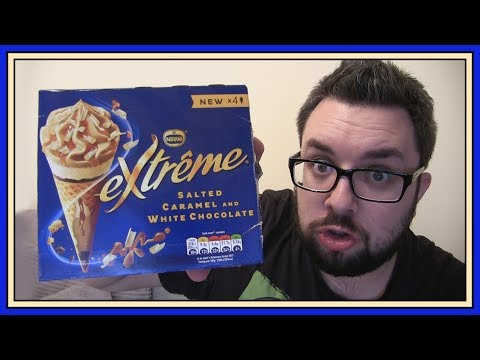 Nestle Extreme Salted Caramel & White Chocolate Cones Review