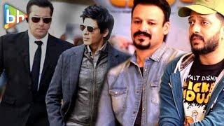 Riteish Deshmukh's SUPERHIT Rapid Fire on  Salman Khan | Shah Rukh Khan | Mannat