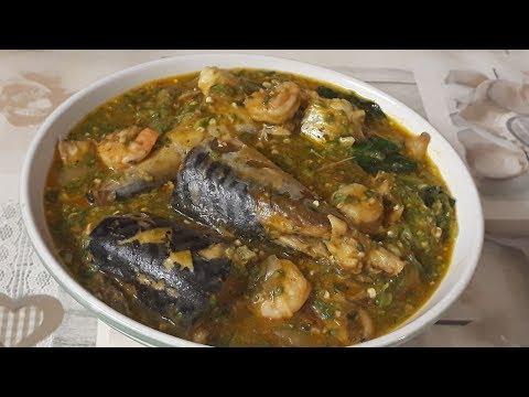 HOW TO MAKE FRESH  FISH  OKRA  SOUP