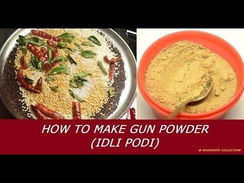 How to Make Gun Powder or Idli podi