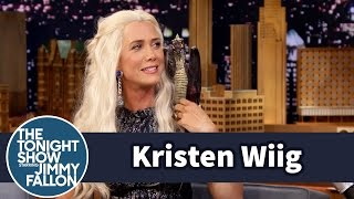 Kristen Wiig on The Tonight Show