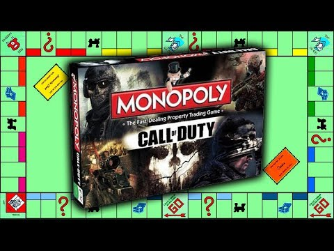 OFFICIAL Call of Duty MONOPOLY w/Zombies BOARDGAME COMING SOON!! & COD RISK GAME