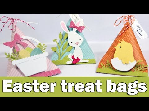 Easter treat bags | Sizzix