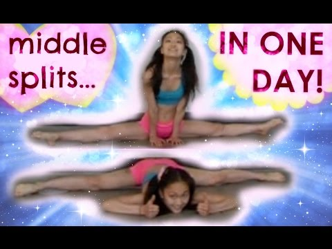 How to Get MIDDLE SPLITS in ONE DAY