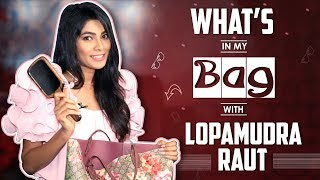 What's In My Bag With Lopamudra Raut   Bag Secrets Revealed