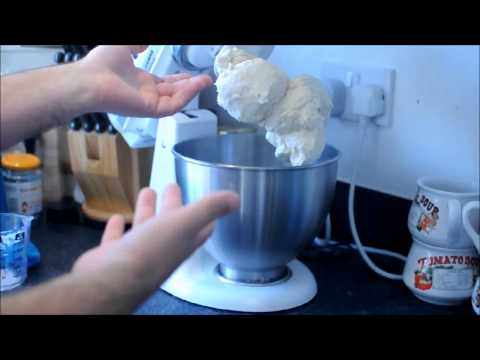 Perfect soft white bread - farmhouse  sandwich loaf mixer kitchenaid