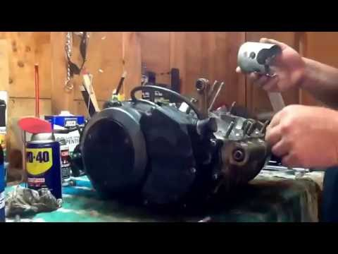 banshee cylinder honing and piston assembly and final steps