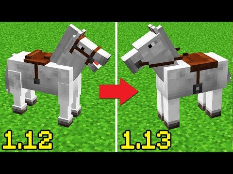 THEY CHANGED MINECRAFT HORSES