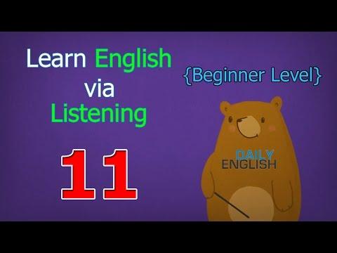 Learn English via Listening Beginner Level | Lesson 11 | Summer Vacation