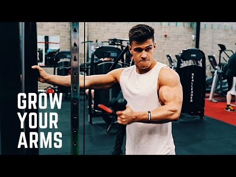 How To Build The Bicep Peak | Full Arm Day