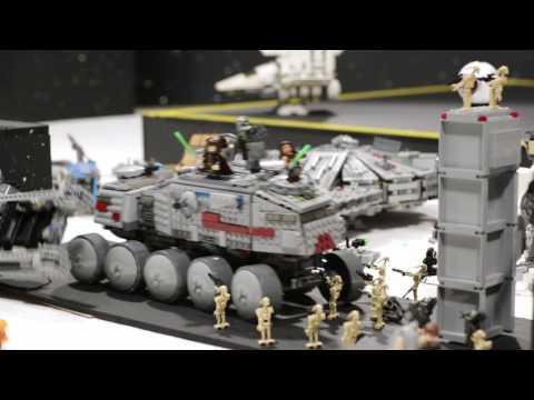 Death Star-Destroying Machine- LEGO Star Wars - Mini Movie