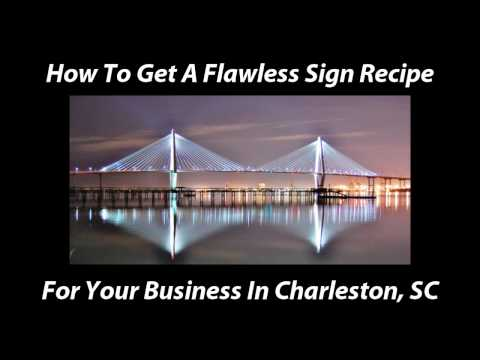 Custom Signs- (www.TheSignChef.com) Online Guide for Custom Business Signs in Charleston, SC