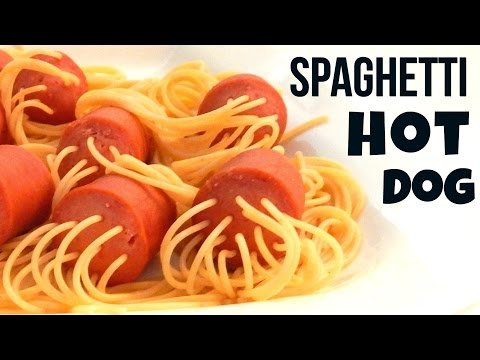 How To Make HOT DOG SPAGHETTI - Best Kids Lunch/Dinner Video Recipe - Inspire To Cook