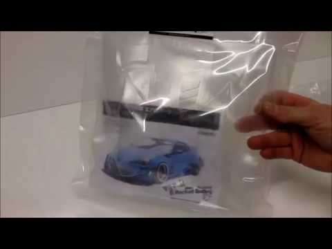 eac RC Body accessories -- Unboxing Toyota 86 Rocket Bunny Ver. 2 Kit
