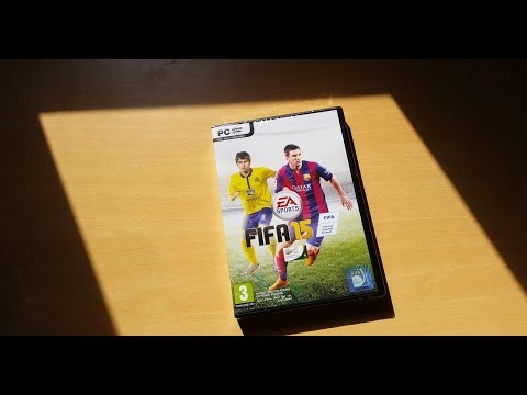 FIFA 15 PC Unboxing