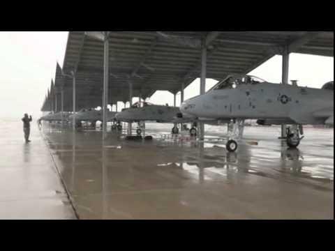 A-10 Warthog Ground Operations Selfridge Air National Guard Base