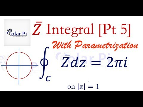 Complex Analysis: Integral of Z-Bar [Complex Conjugate] - (Part 5)